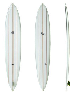 """9'7"""" - Single Fin Glass on System"""