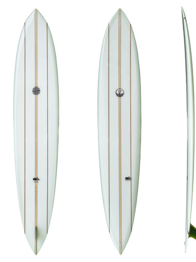 "9'7"" - Single Fin Glass on System"