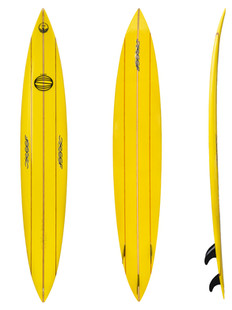 """9'8"""" - Thruster Fin on System"""