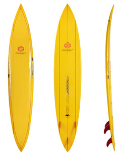 """9'0"""" - Thruster Fin on System"""