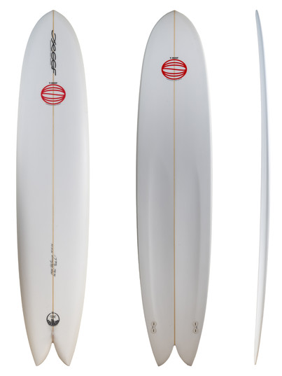 "9'0"" - Twin Plugs Fin System"