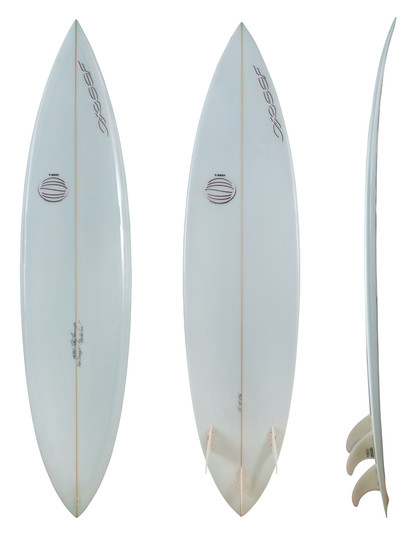 "6'5"" - 3 Plugs Tricky Fin System"