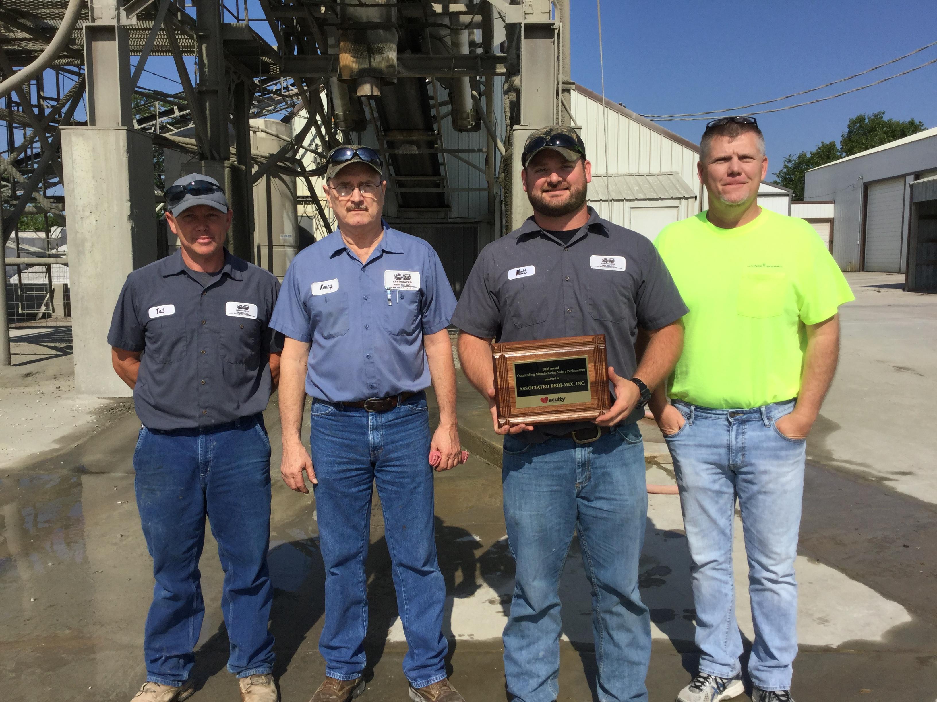 2017 Acuity Safety Award