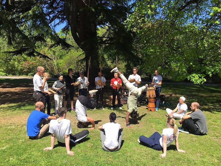 Ungu Capoeira Roda - Christchurch