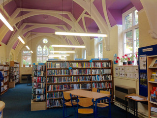 It's National Libraries Week! (And how one very special library became the inspiration behind my