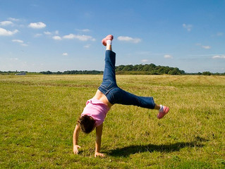 Turning Cartwheels (Or some very exciting news...)
