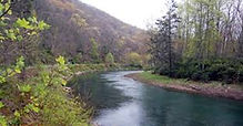 Beautiful Greenbrier River in WV
