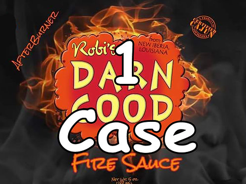 1 Case - DGS Fire Sauce (12 Bottles)