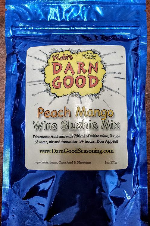 Peach Mango Wine Slushie