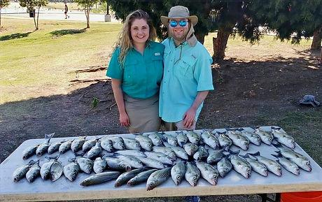 Lake Lewisville White Bass