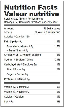 wieners long nutritional.png