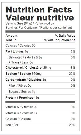 black forest ham nutritionals.png