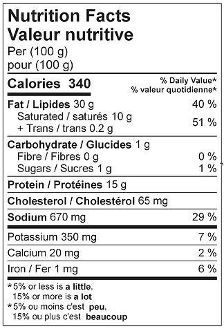 teasausage fine nutritional april 2021.j