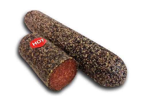 Mini Pepper Salami HOT (Half)