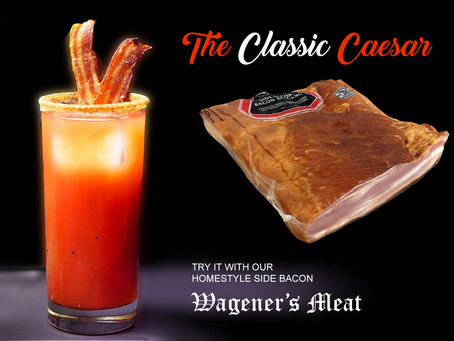 Caesars & Side Bacon!