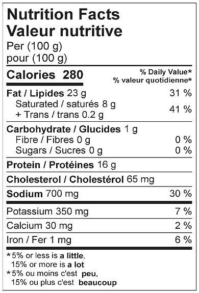 bbq smokies with cheese nutritional apri