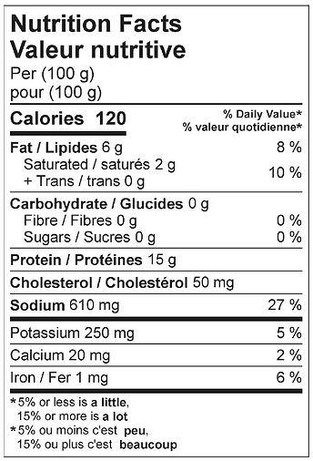 krakovska sausage nutritional 2021.jpg