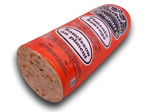 Pimento Sausage (Half Piece)
