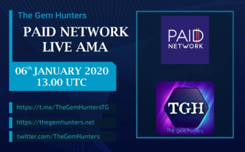 PAID NETWORK LIVE AMA