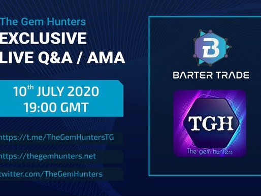 Exclusive live Q&A/AMA with Barter Trade