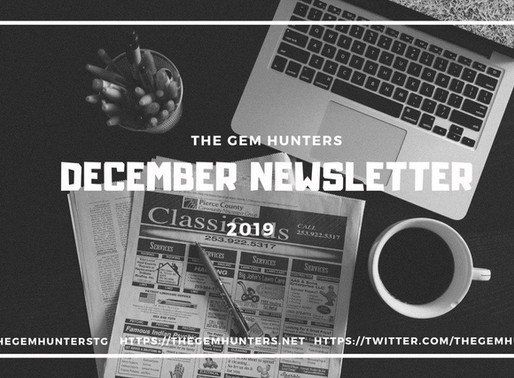TGH December Newsletter 2019
