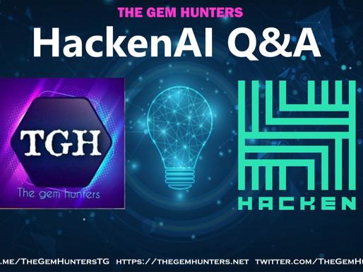 HackenAI $HAI Q&A / AMA