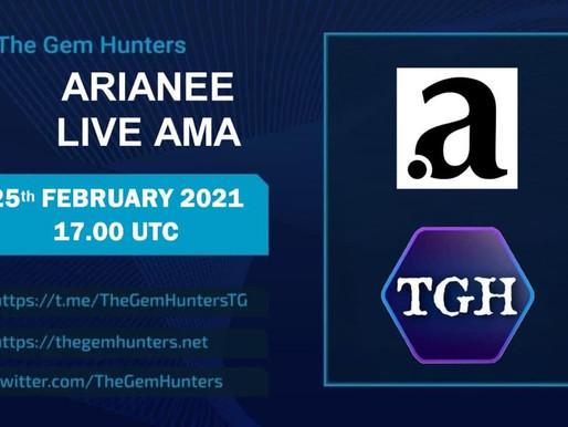 ARIANEE LIVE AMA