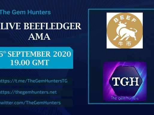 BEEFLEDGER $BEEF LIVE AMA