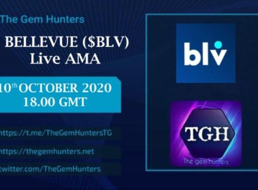 BELLEVUE ($BLV) LIVE AMA