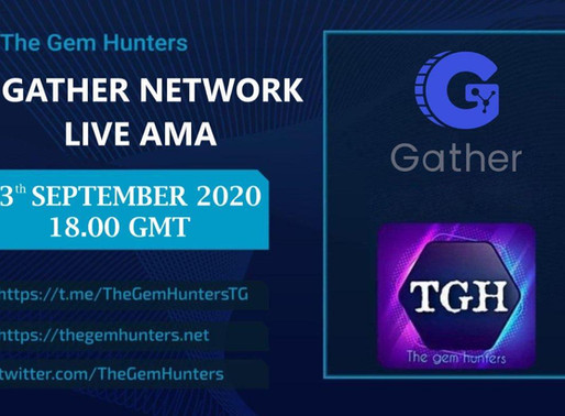 GATHER NETWORK $GTH LIVE AMA
