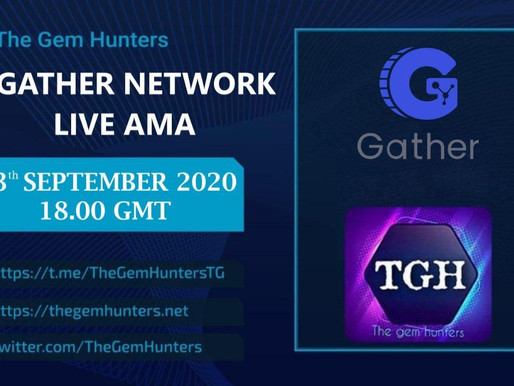 GATHER NETWORK $GTH LIVE AMA