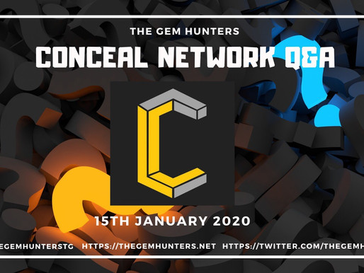 Conceal Network (CCX) Q&A