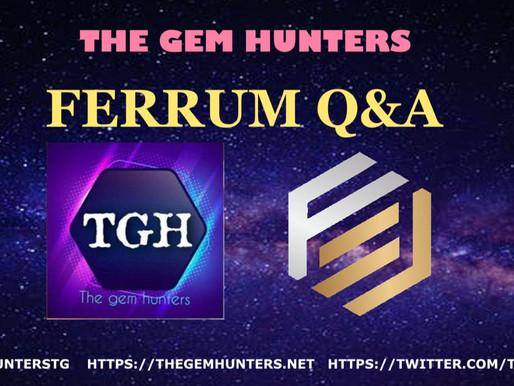Ferrum $FRM Q&A