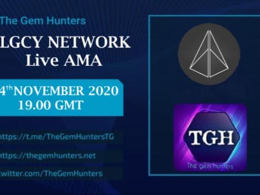 LGCY NETWORK LIVE AMA