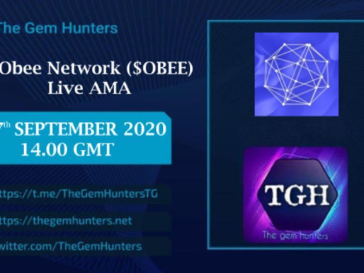 Obee Network ($OBEE) LIVE AMA