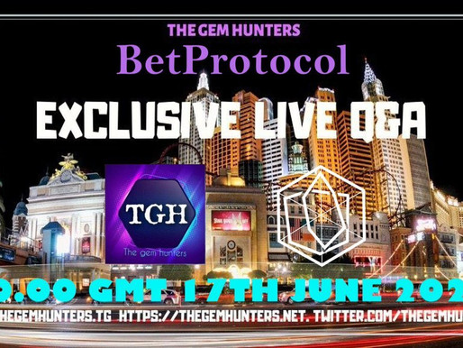 Exclusive Live Q&A with BetProtocol  $BEPRO