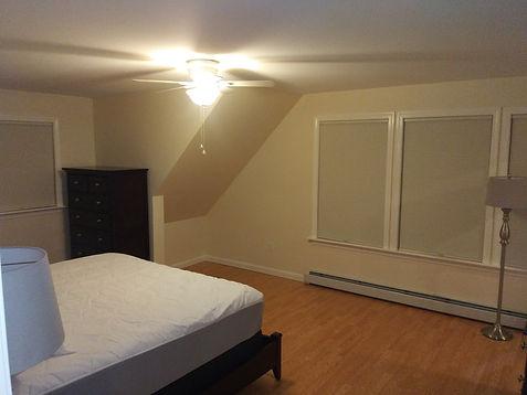 New constructed bedroom