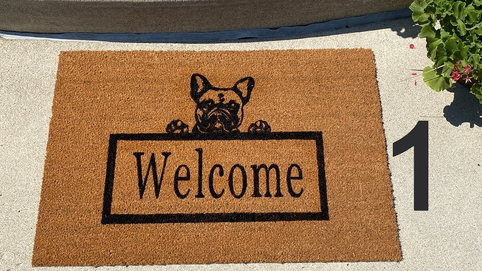 Dog Breed Large Welcome Mat