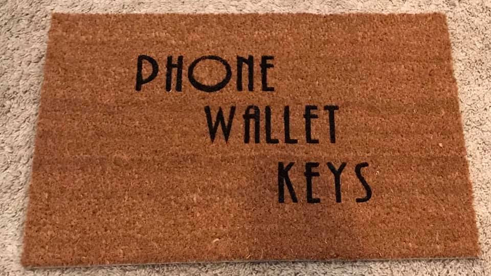 small phone wallet keys