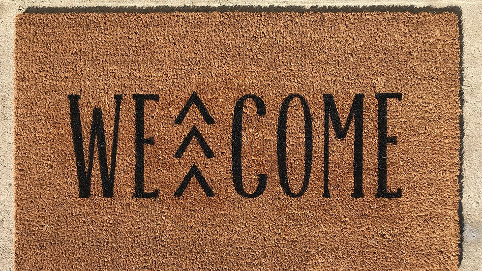 Small Down syndrome doormat