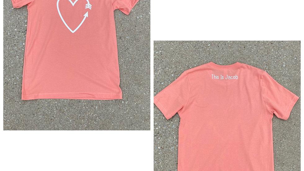 arrow/heart T-shirt