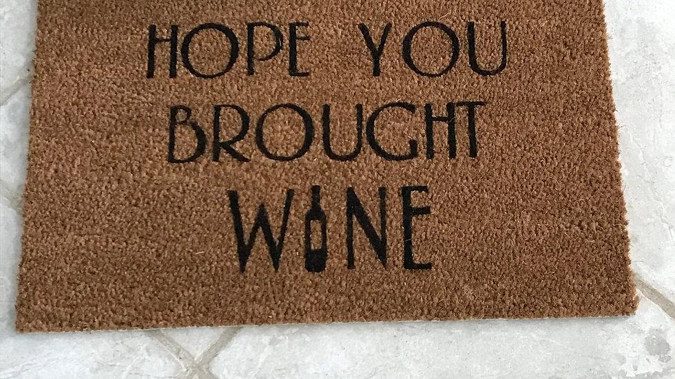 Large Wine doormat