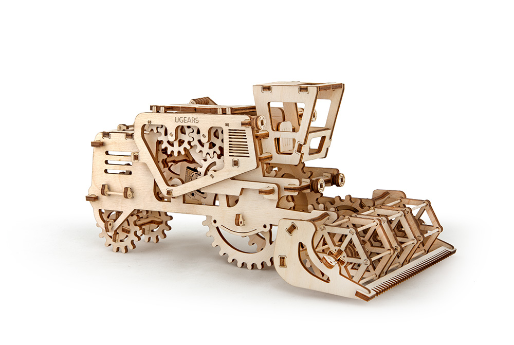 Model Combine Ugears 1