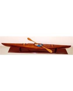 old-modern-handicrafts-b078-kayak-model-boat-as-shown