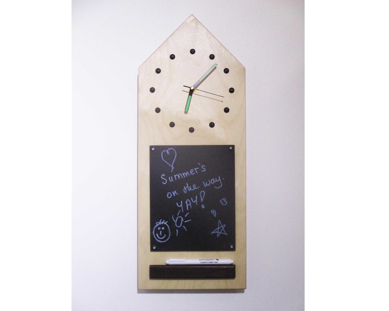 Chalk Board Clock big