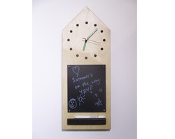 Chalk Board Clock big