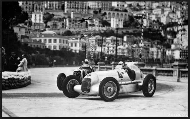 Mercedes silver arrow 1930