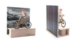 Tomi the solar cyclist