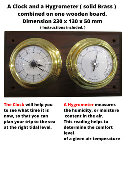 Thermometer and a Barometer