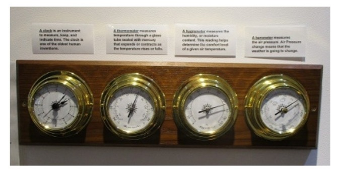 Brass Weather Stations